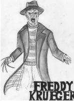 Freddy Krueger by wisemantonofski