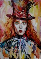 The Mad Hatter by MarinaCardoso