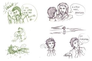 Loki Moments by Choco-Doodle