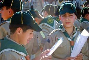 Arab scouts, Jerusalem by dpt56