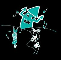 Vocaloid -Song for great Satan by 3ghosts