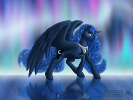 Princess Luna by Adalbertus