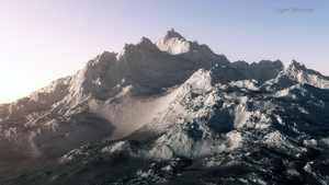 Snow covered Peak by artech7