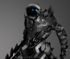 Advanced Light Suit Solo Close Up by benedickbana
