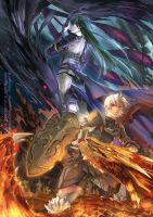 Dragon knight of the war. by MoonlightYUE