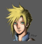 Cloud Strife by Angy89