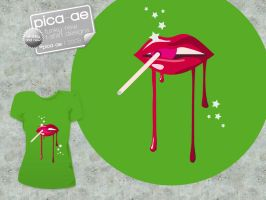 Kiss This T Design by pica-ae