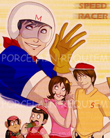 Speed Racer - Mach GoGoGo by Porcelain-Requiem