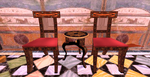 Greek chair and roman table by mooninlove