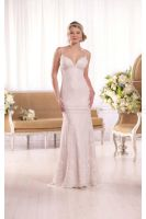 Essense of Australia Breezy Lace Wedding Dress Sty by simondresslove