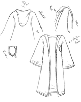Normal Hogwarts Student Robes by MageStiles
