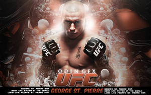 George St. Pierre Signature by Necrorrior