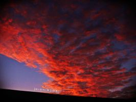 Blood clouds by DionisDei
