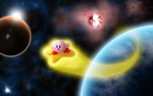 Kirby In Space by Neok4