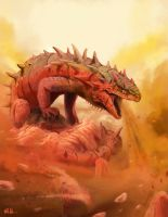 Anger Dragon by Nihilustra