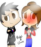 Rodeo and Clare by AskMaddeline-SP