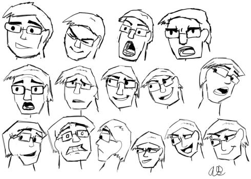 Facial Expression me by AlexFanmade