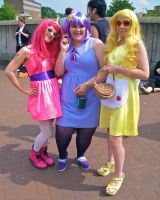 Bubblegum, LSP and Tree Trunks by ZeroKing2015