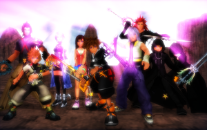 Heroes of the Realm of Light. by RoxasRox1042