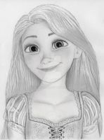 Rapunzel from Tangled by julesrizz