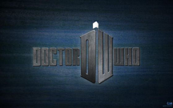 Doctor Who Logo Wallpaper by webname05