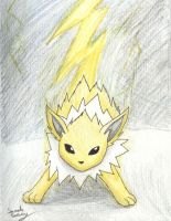 Jolteon by SimbaRox