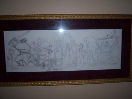 On the walls_ULTIMATE Mulan by tombancroft