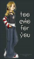 Too Emo For You by gabfury