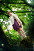 Strangers in the Wood. Mononoke Hime cosplay. by Giuzzys