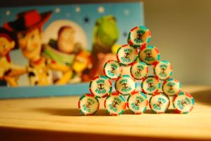 Lollies and Toy Story by geescape