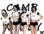 Camp W.O.O.D.Y: Goths-R-Us by CDB2