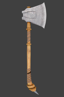 ancient axe by SpardasDante