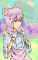 Happy Birthday Pilu by KeiiGreenTea