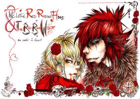 The Little Red n The Wolf by S0MAwalkingDEAD