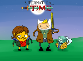 Supernatural Time by Twiggy-Rapture