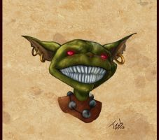 Goblin quick sketch by tZuB