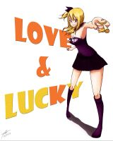 Love and Lucky - Fairy Tail by tuves