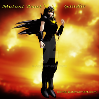 Mutant Beast - Gandar [2nd appearance] by Ooma-p