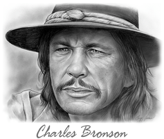 Charles Bronson by gregchapin