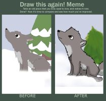 MEME: Draw this again by CutiesCat