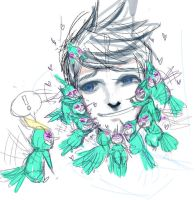 WIP Uhhh Baby Tooth by ShantyPAPER