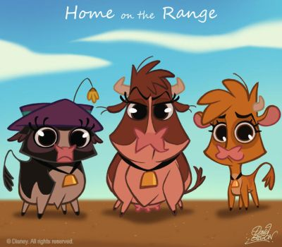 50 Chibis Disney : Home Range by princekido