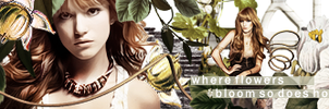 Flowers Banner by VaL-DeViAnT