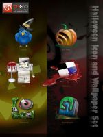 Halloween Icon set by klaatu81