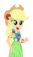 Hula Applejack by MoHawgo