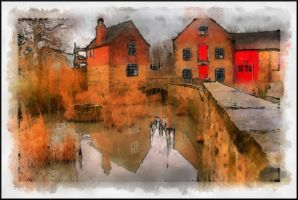 Bedgrave Mill - Paintography... by TheBaldingOne