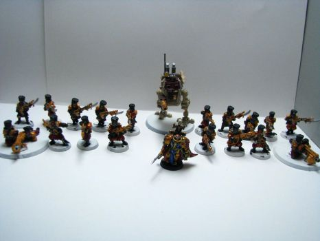My Firstborn Army so far by TheCommissarFangirl