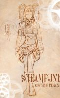 Steampunk Costume by sive