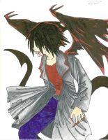Sasuke Dragon Demon by Dregrith