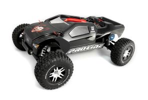 DARKRAYNE - Spare parts Built Traxxas Rustler by RaynePhotography